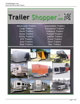 Trailer Shopper Magazine ® USA