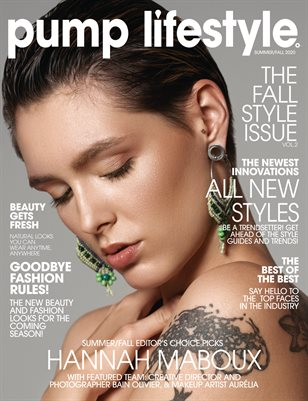 Pump Magazine | The Fall Style Issue | Vol.2