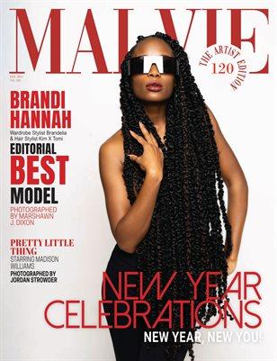 MALVIE Magazine The Artist Edition Vol 120 January 2021