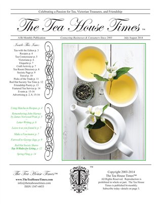 The Tea House Times July/Aug 2014 Issue