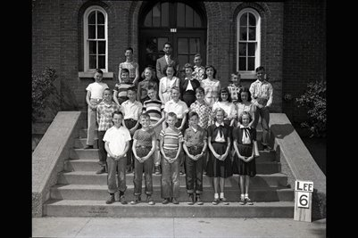 May 9, 1951 6th Grade, Lee School