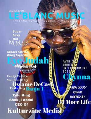 Le'Blanc Music Mag Vol. 4-Eye Judah