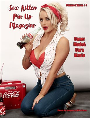 Sex Kitten Pin Up Magazine Cara Marie Cover July 2019 Issue