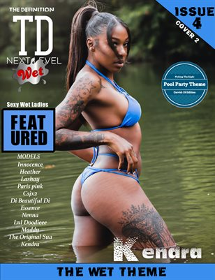 TDM Kendra wet: issue4 cover 2