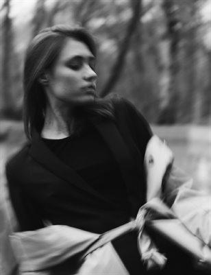 Daria in forest