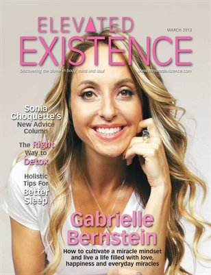 March 2013 Issue with Gabrielle Bernstein