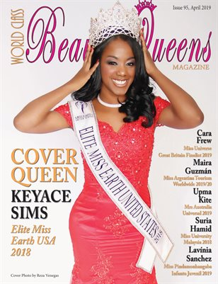 World Class Beauty Queens Magazine Issue 95 with Keyace Sims