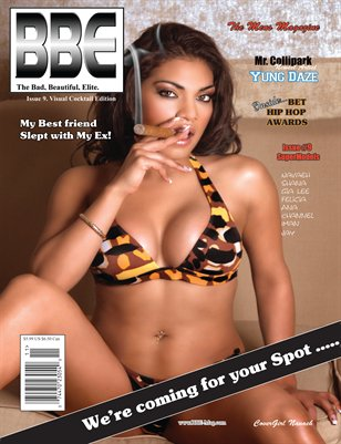 BBE Magazine Issue 9 2008; Collectors Edition: Navaeh cover (Visual Cocktail)