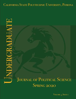 Undergraduate Journal of Political Science, Vol. 4, No.1