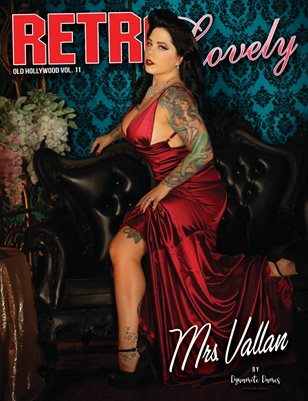 Old Hollywood Volume No.11 – Mrs. Vallan Cover