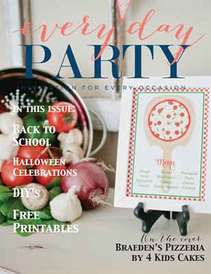 Everyday Party Magazine Volume 3 Issue 3 Fall 2015