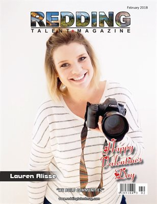 Redding Talent Magazine February 2018 Edition