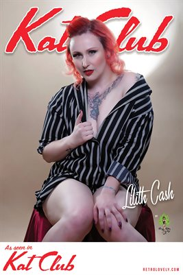 Kat Club No.45 – Lilith Cash Cover Poster