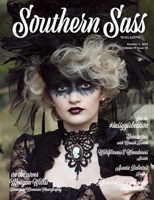 Southern Sass Magazine October 2018   Dark Beauty Issue