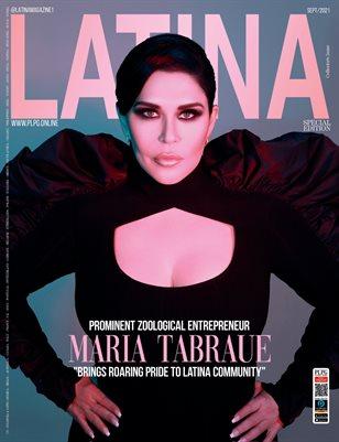 LATINA Mag - MARIA TRABAUE - Sept/2021 - PLPG GLOBAL MEDIA
