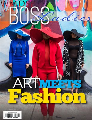 WMDSF Boss Ladies Magazine Art Meets Fashion Edition