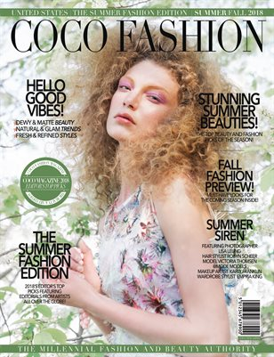 COCO Fashion Magazine - The Summer Fashion Edition - September 2018 - Vol.6