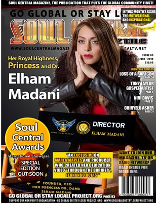 Soul Central Magazine Edition #85 Princess Elham Madani