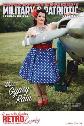 Patriotic & Military 2021 Vol.1 – Miss Gypsy Rain Cover Poster