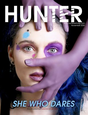 HUNTER Magazine issue NOVEMBER 2020 vol.3