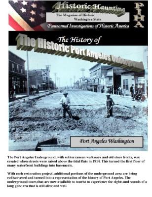 The Historic Underground of Port Angeles Washington