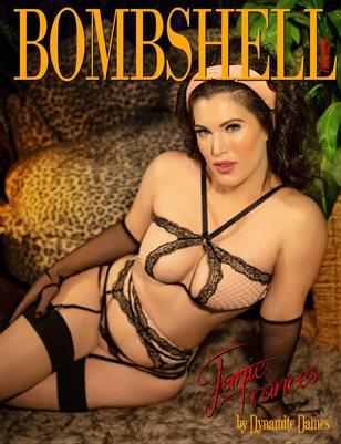 BOMBSHELL Magazine February 2021 - BOOK 2 - Janie Frances Cover