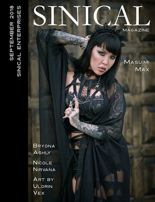 Sinical September 2018 - Masuimi Max cover edition