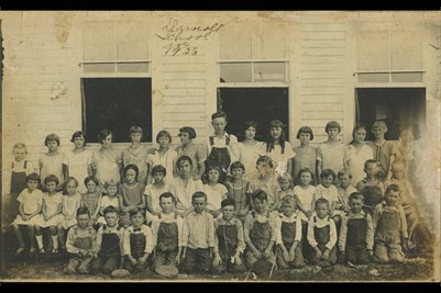 1925 Darnall School, Marshall County, Kentucky