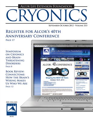Cryonics September-October 2012 Volume 33:5