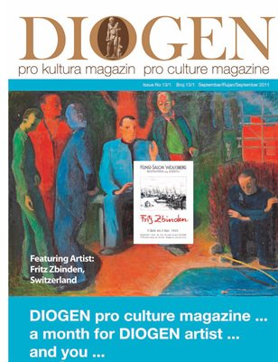 DIOGEN pro art magazin No 13 second part special Septembar 2012