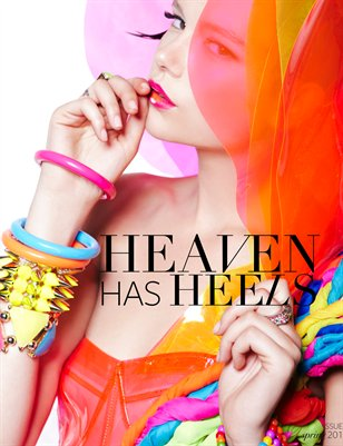 Heaven Has Heels Spring Issue