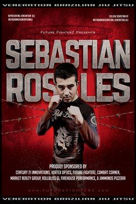 Sebastian Rosales Barb Wire Poster