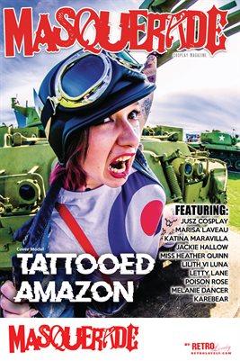 Masquerade No.2 – Tattooed Amazon Cover Poster