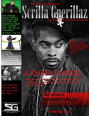 THE SCRILLA GUERILLAZ MAGAZINE ISSUE #1