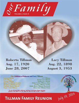 Volume 3 Issue 8 - Tillman Family Reunion