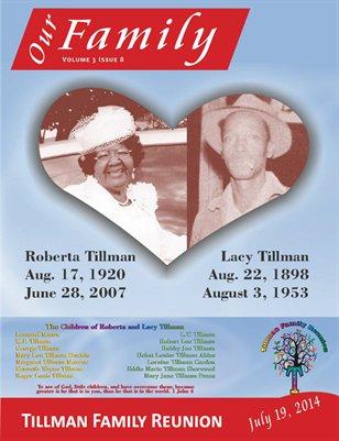 Volume 3 Issue 8 - Tillman Family Reunion