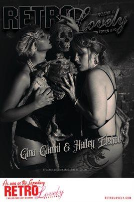 Gina Gianni & Hailey Elskov Cover Poster