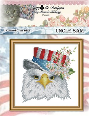Uncle Sam Cross Stitch Pattern
