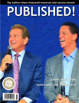 PUBLISHED! Excerpt featuring James Malinchak and Joe Theismann