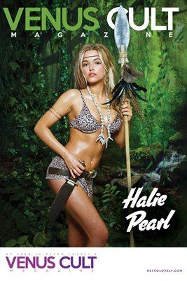 Venus Cult No.35 – Halie Pearl Cover Poster