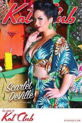 Kat Club No.16 – Scarlet DeVille Cover Poster