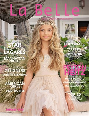 La Belle Kidz Fashion Magazine - Summer 2016
