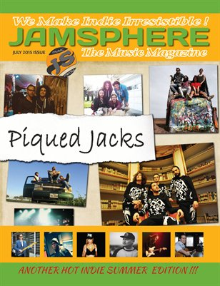 Jamsphere Indie Music Magazine July 2015