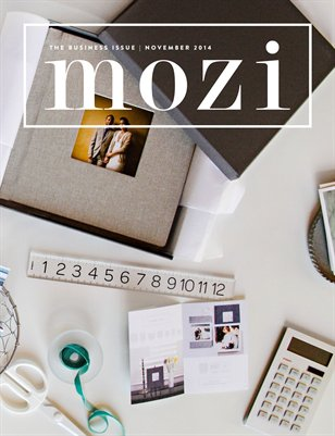 Mozi Magazine, November 2014, Business
