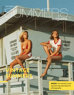 Summers Magazine October Issue ft. Nelia Porut and Tess Jantschek