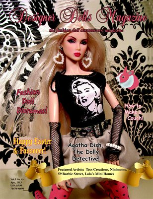 Designer Dolls Magazine - April 2013