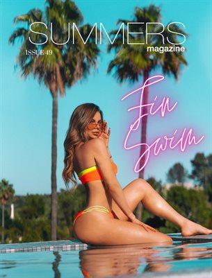 Summers Magazine Issue 49 Featuring Fin Swim