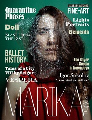 MARIKA MAGAZINE FINE-ART (May - issue 36)
