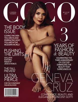 COCO Fashion Magazine - The Body Issue Vol. 1