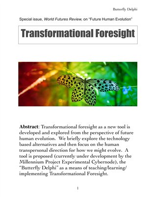 World Futures Review: Transformational Foresight